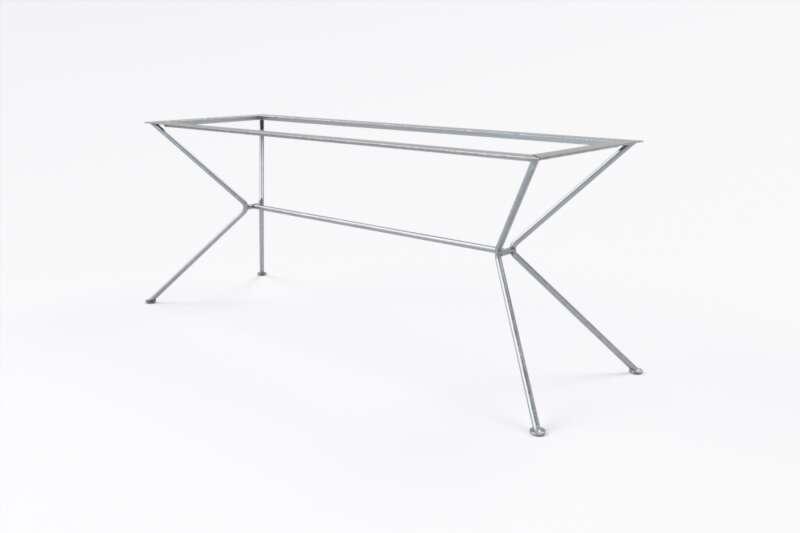 Tischuntergestell Filigran Rundrohr nach maß