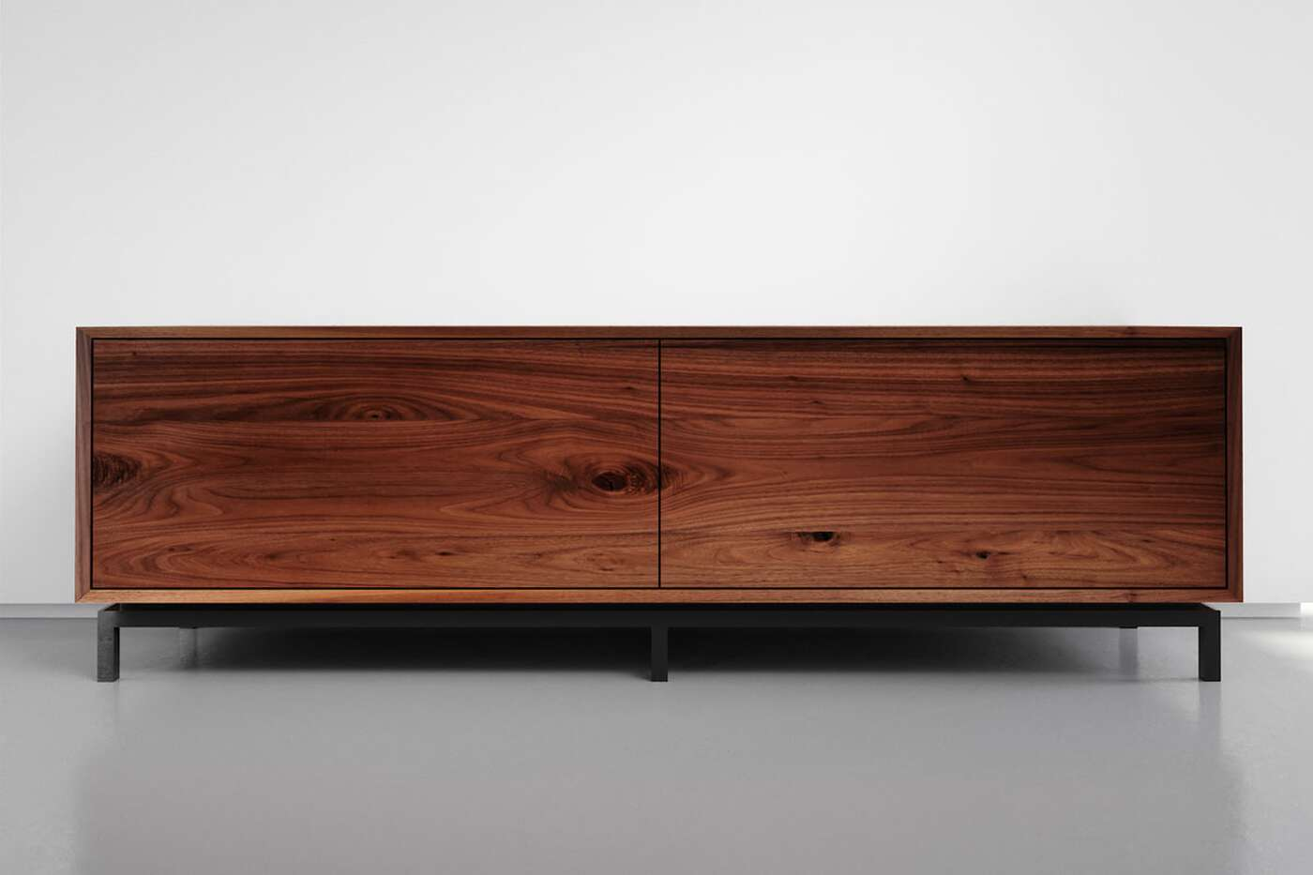 Holz Sideboard modern amerikanischer Nussbaum