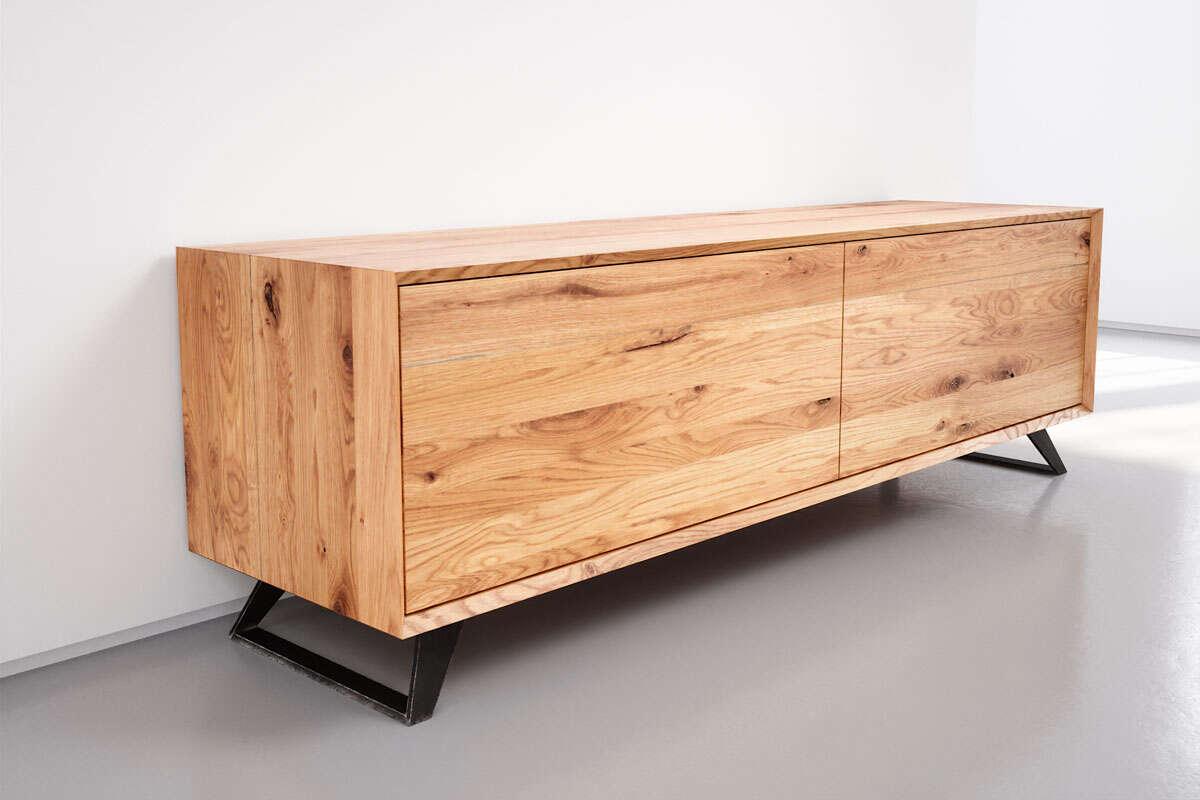Kommode Massiv Eiche : kommode eiche massiv modern wohnsektion ~ Watch28wear.com Haus und Dekorationen