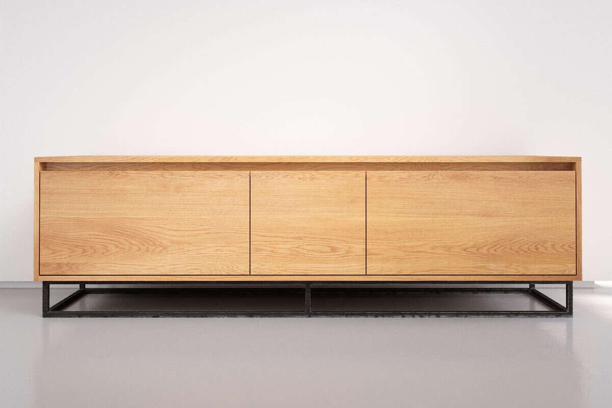 Sideboard Eiche modern mit Schubladen