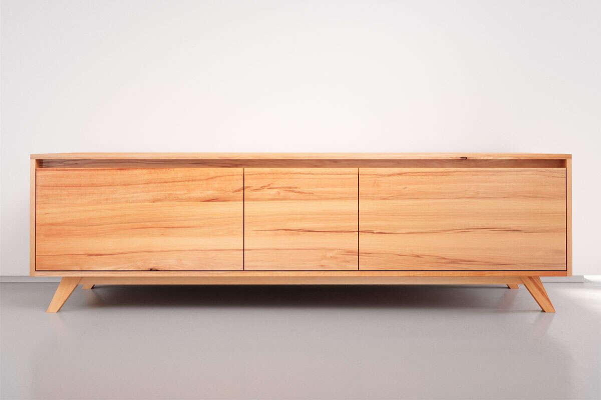 Sideboard Buche massiv (Kernbuche)