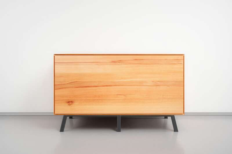 Nachttisch Massivholz mit Schublade