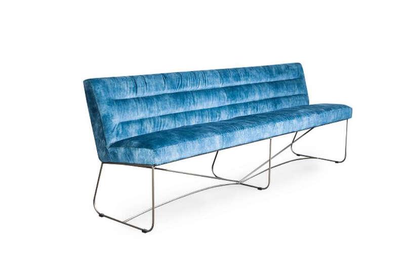 Samt Sitzbank modern Ernest