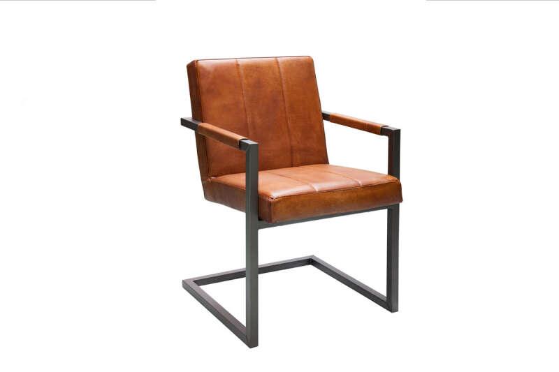 Industrial Freischwinger Chair Brenda