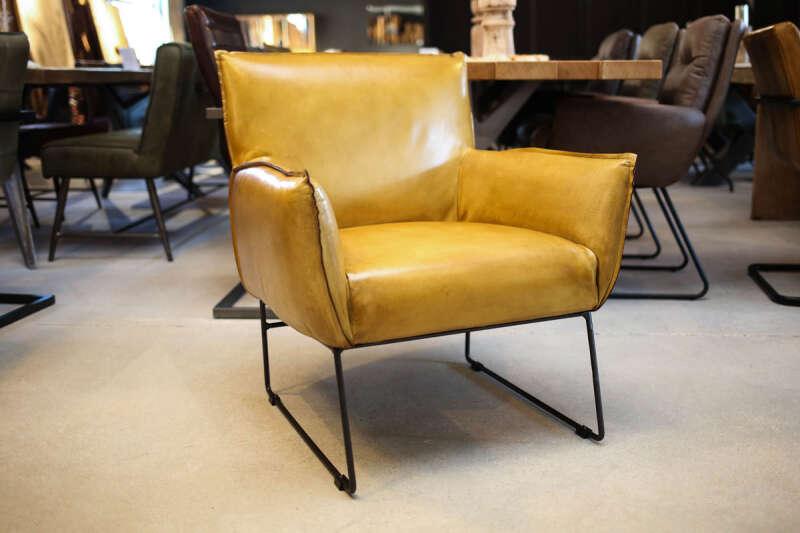 Lounge Sessel Leder Modell Oscar