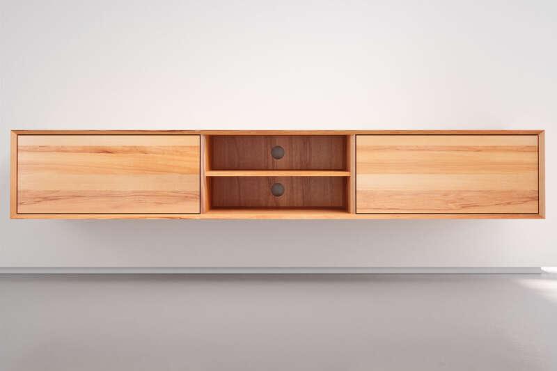 Holz TV Lowboard Kernbuche