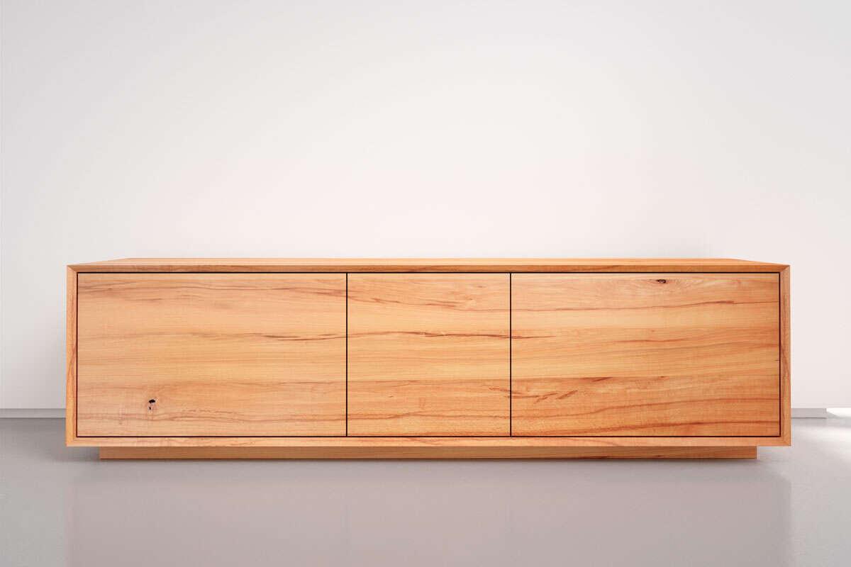 Lowboard Holz Kernbuche nach Maß