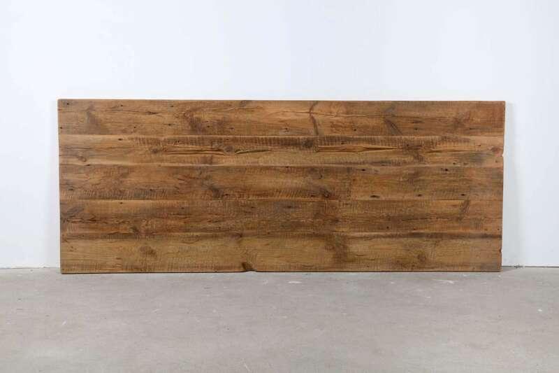 Tischplatte Kiefernaltholz B-Ware 238x106x4