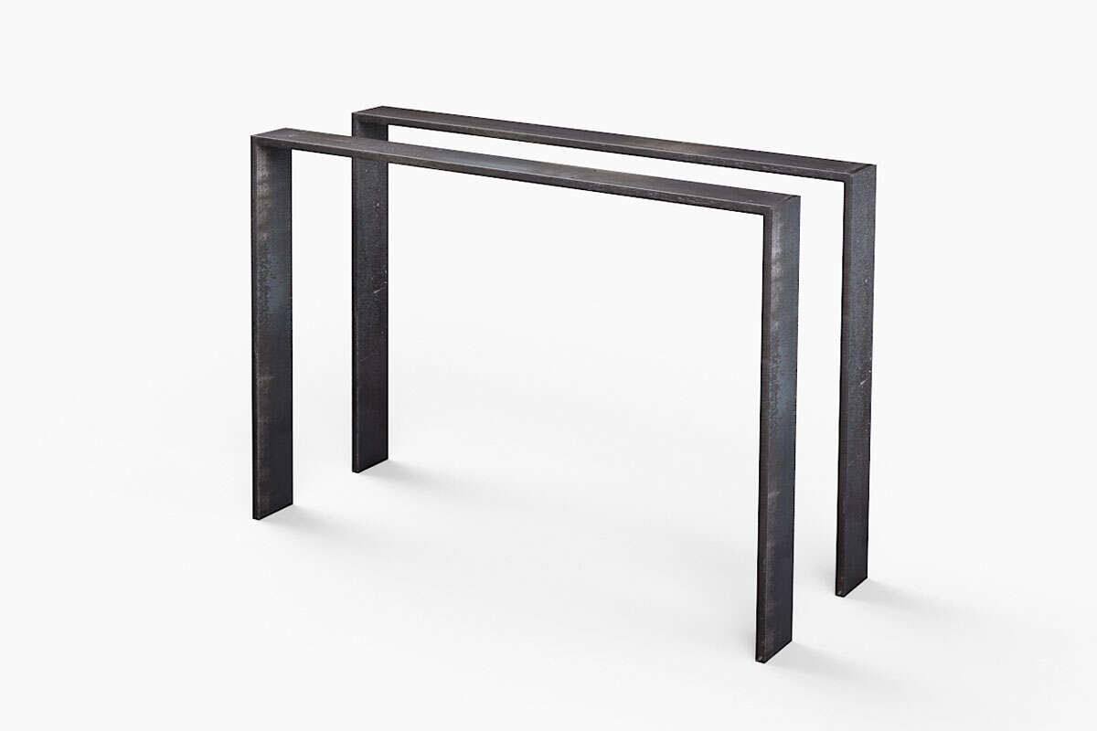 Tischgestell Metall Flachband Hartok 10