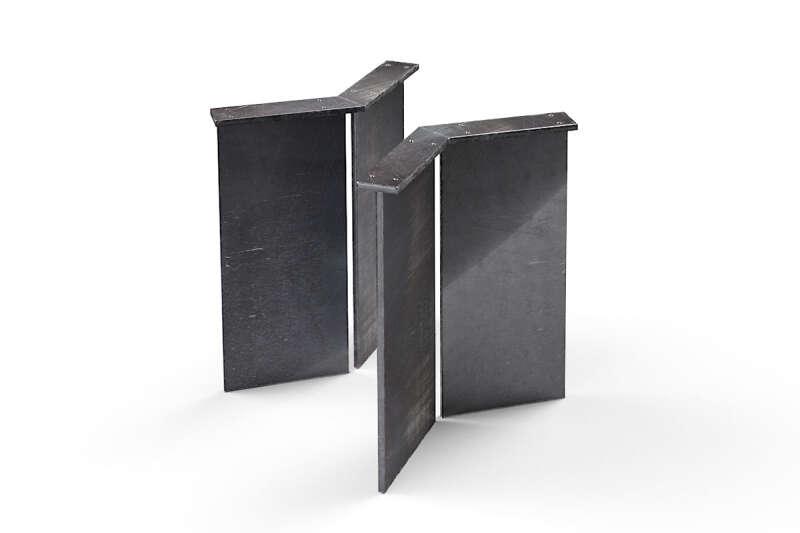 Stahl Tischwangen nach Maß
