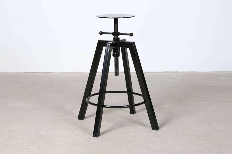Höhenverstellbares Tischgestell schwarz