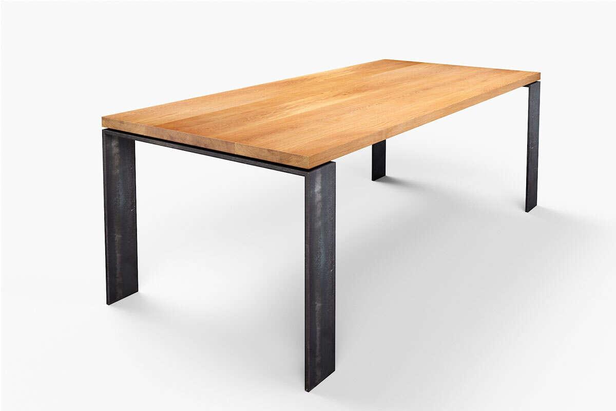 Tisch Eiche massiv Karuk