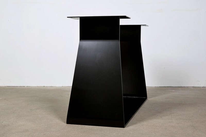 Stahl Tischgestell Mirel im modernen Design