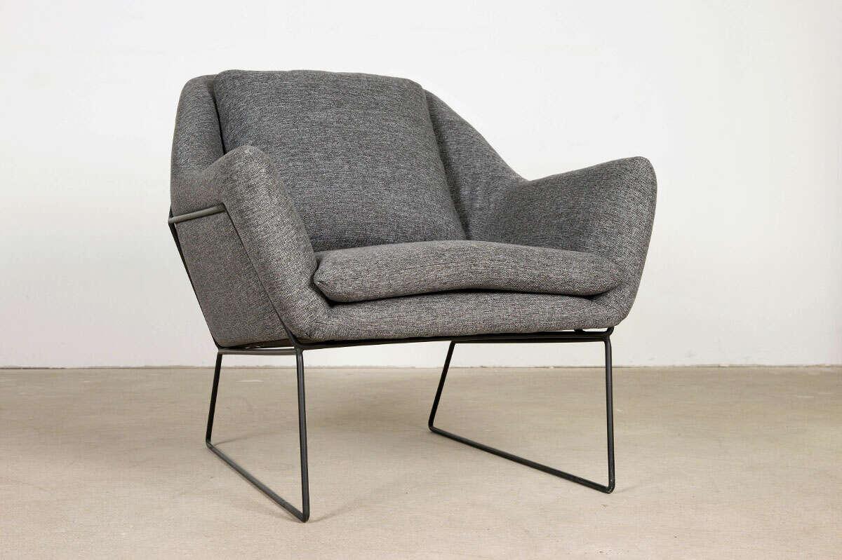 Stoff Lounge Sessel Anwar modern