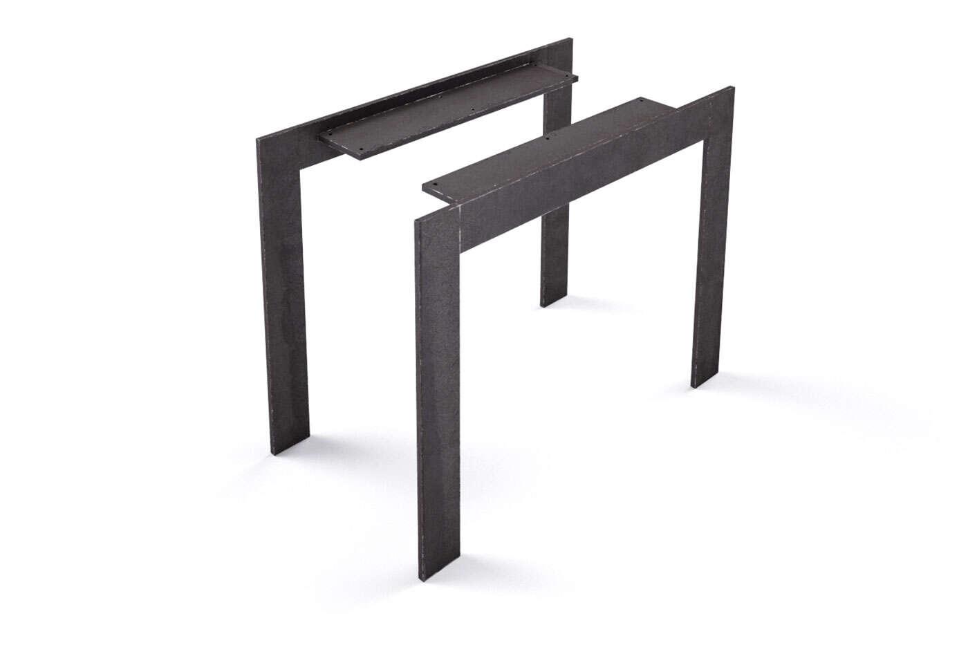 Metall Tischbeine nach Maß Trenton 10 (2er Set)