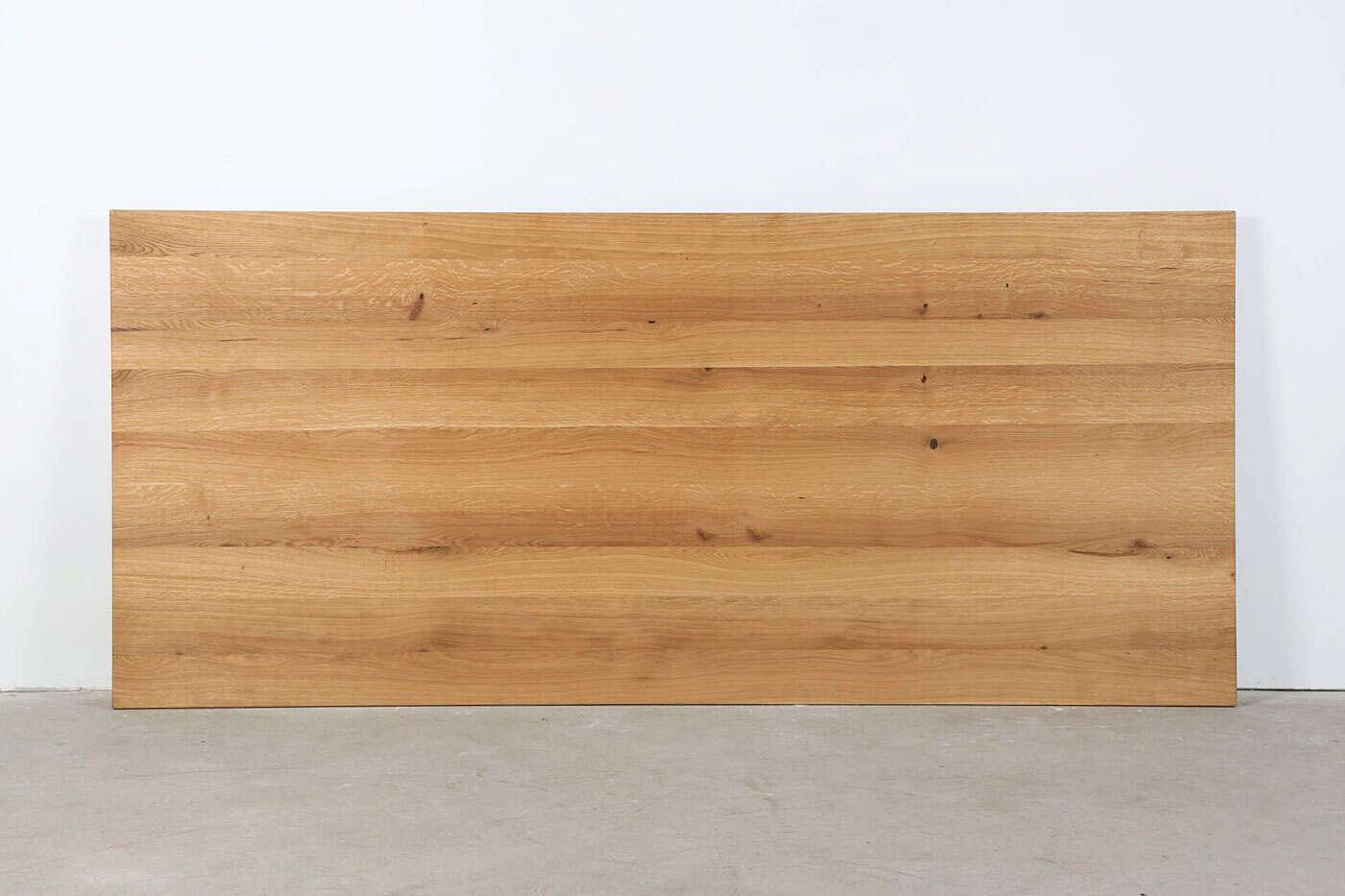 Tischplatte Eiche 5cm massiv nach Maß