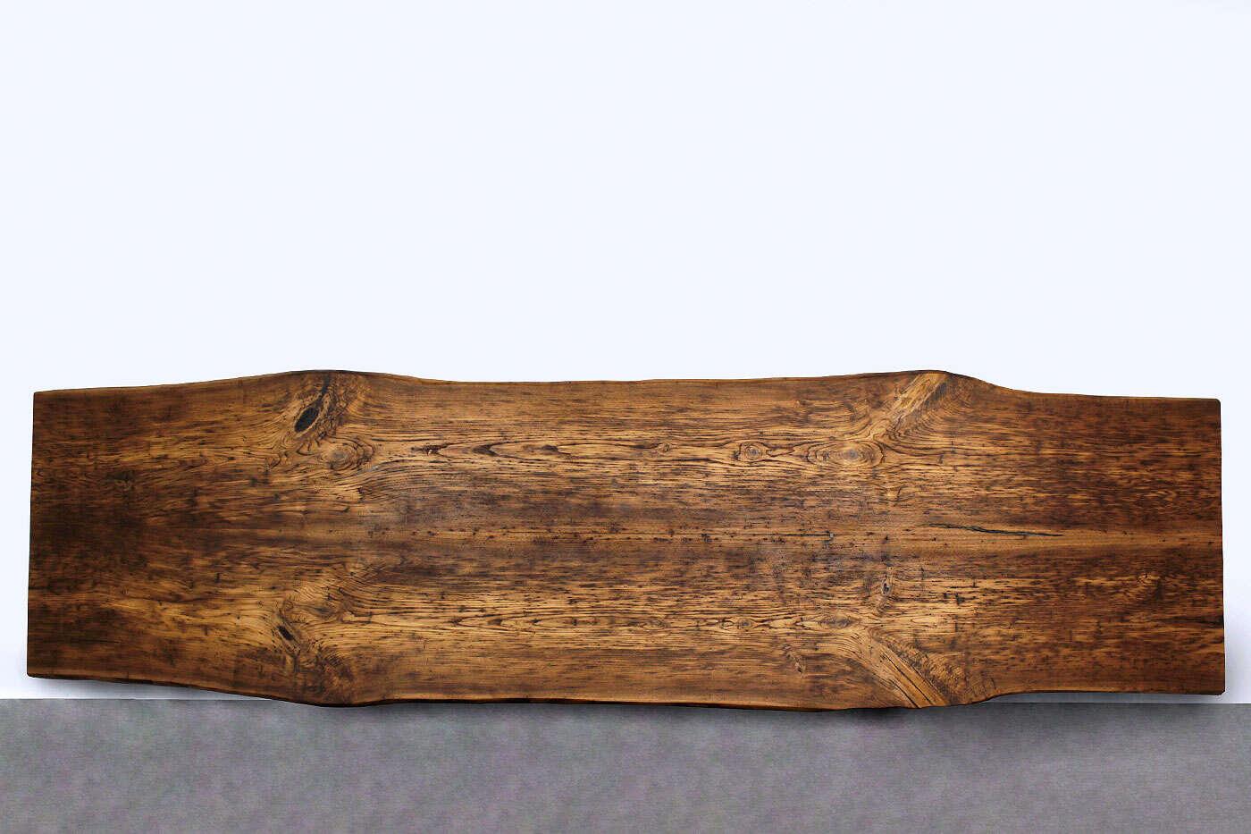 Baumkanten Massivholzplatte Kastanie Twin verleimt 387 x...